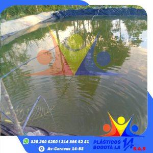 Plásticos para reservorios de agua